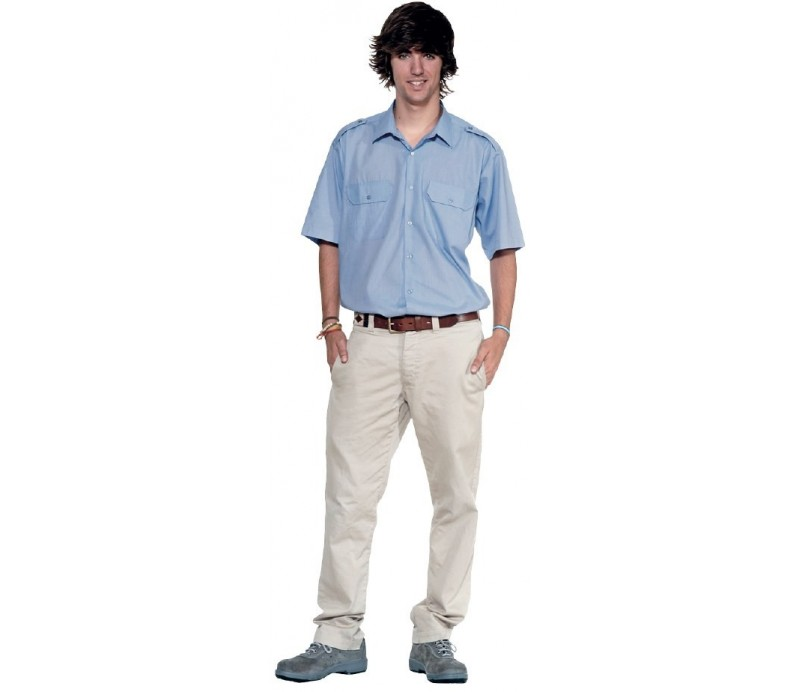 Camisa manga corta de vigilante
