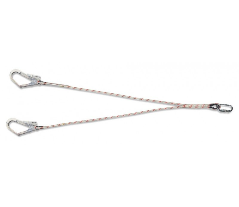 Cuerda de 1,5 mts con mosquetones