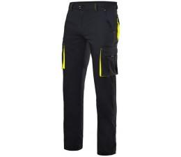 Pantalon Stretch entretiempo bicolor