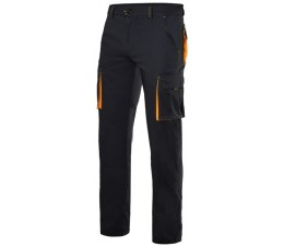 Pantalon Stretch entretiempo bicolor