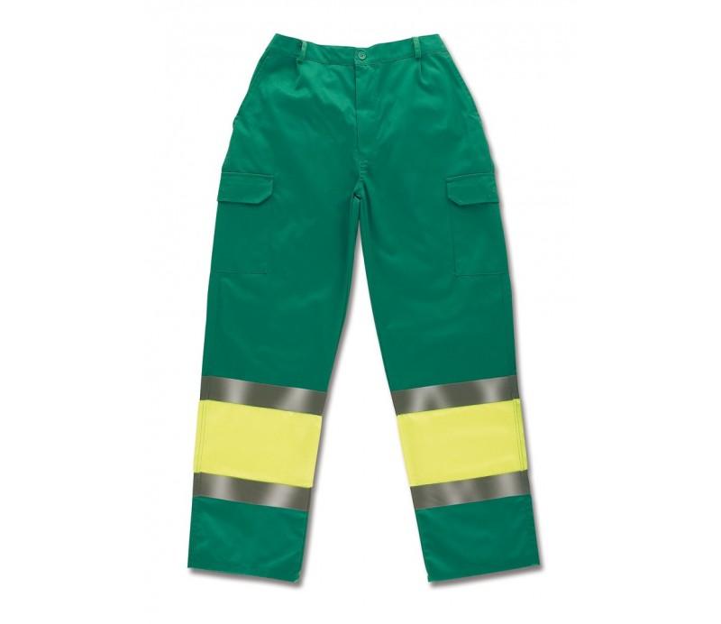 Pantalón alta visibilidad tergal Bicolor