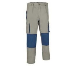 Pantalón Bicolor Darko gris azul
