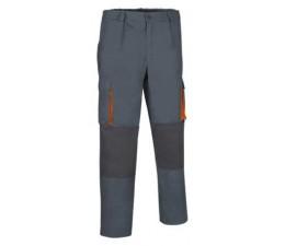 Pantalón Bicolor Darko gris carbón naranja