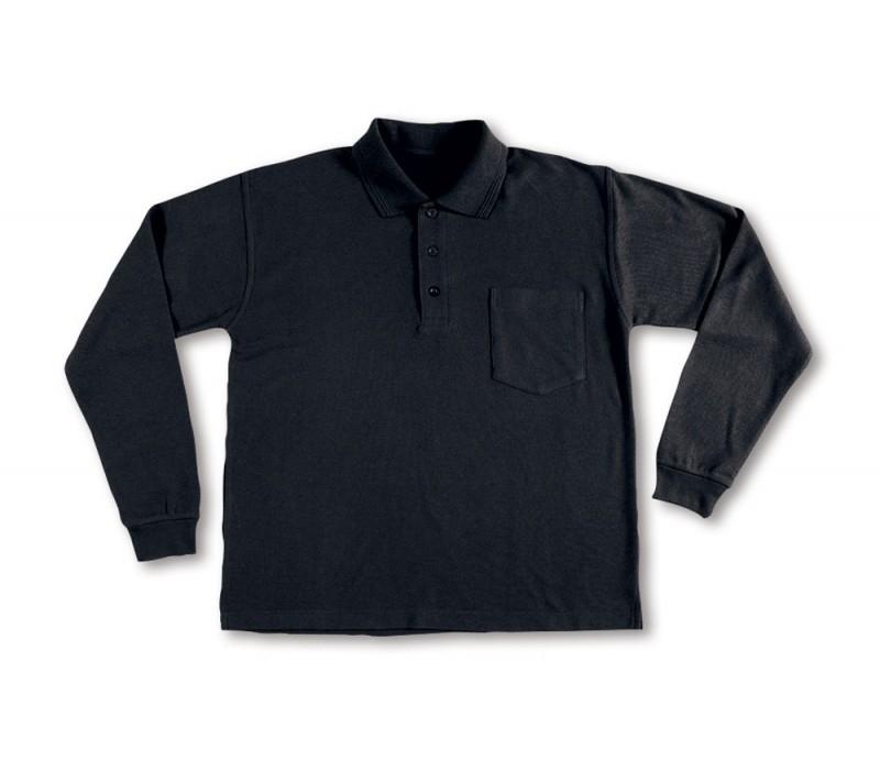 Polo Laboral M/L negro