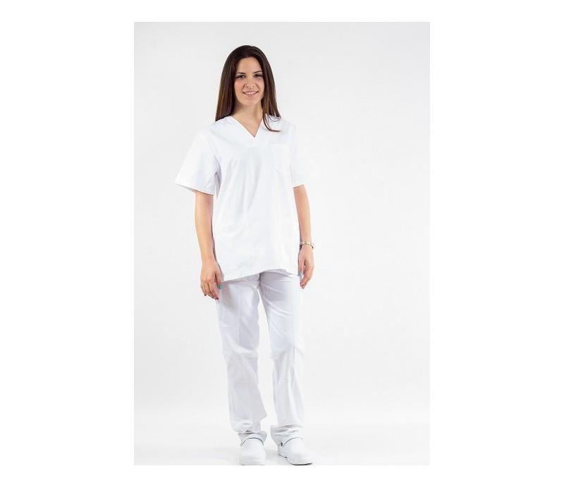 tergal tergal Nuevo Nuevo sanitario Pijama Pijama blanco vP7nw87x 14cdfc953d27