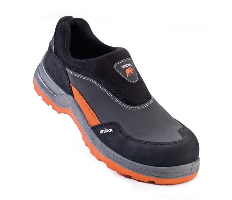 Zapato de serraje sin cordones