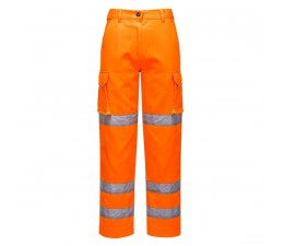 Pantalones de alta visibilidad para mujer.