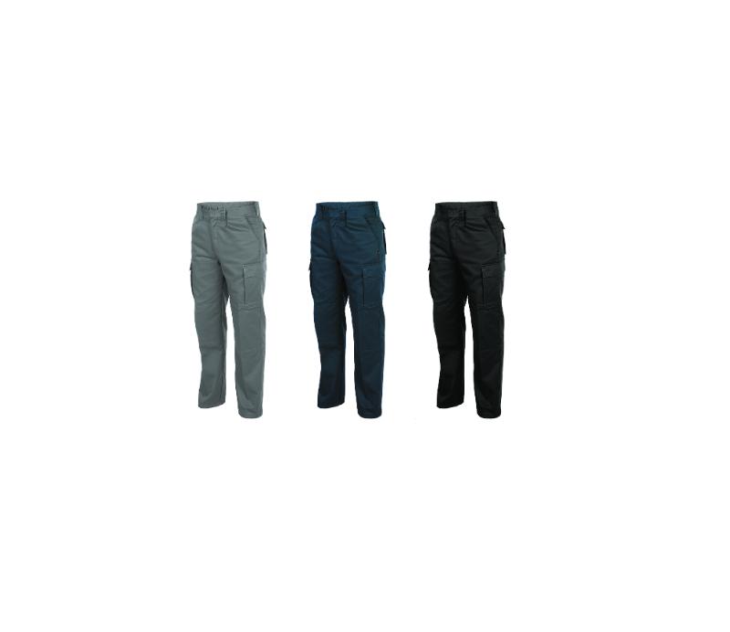 Pantalón multibolsillos de campaña