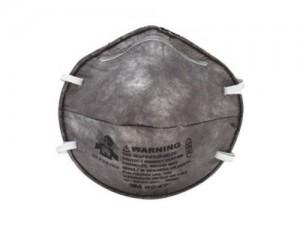 mascarilla conformada con carbón activo