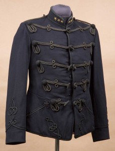 chaqueta de oficial antigua