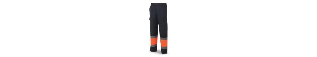 Pantalones de alta visibilidad