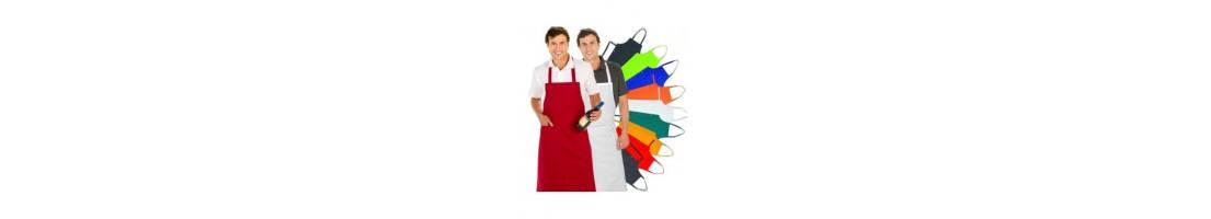 Delantales de cocina. Diseño y variedad para la hostelería. Ancasber.
