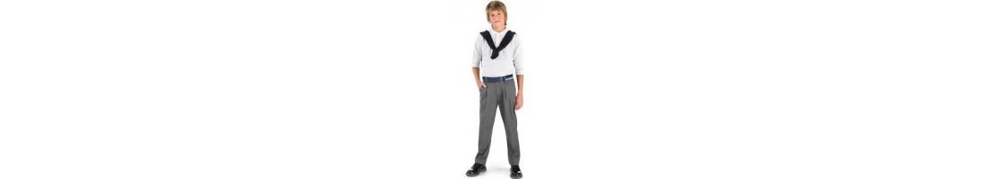 Pantalones colegial